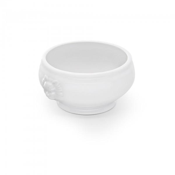 Löwenkopfsuppentasse - Porzellan - ohne Deckel - premium Qualität