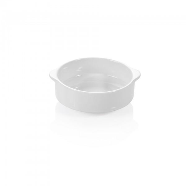 Suppentasse - Porzellan - mit Lappengriffen