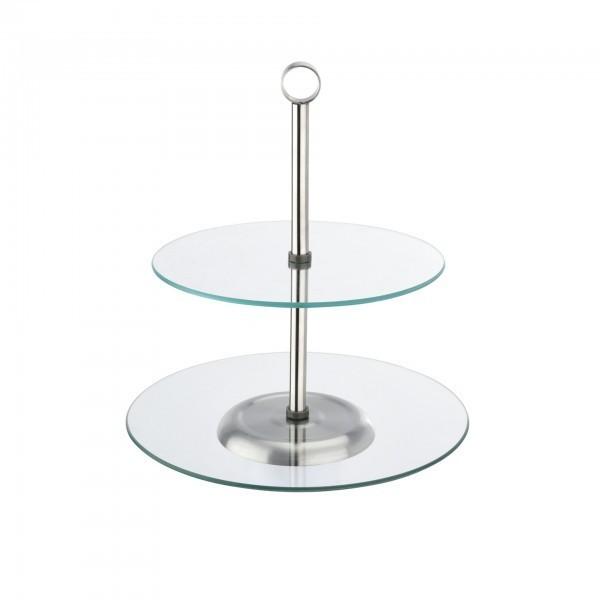 Etagere - Glas - rund - 6319 002