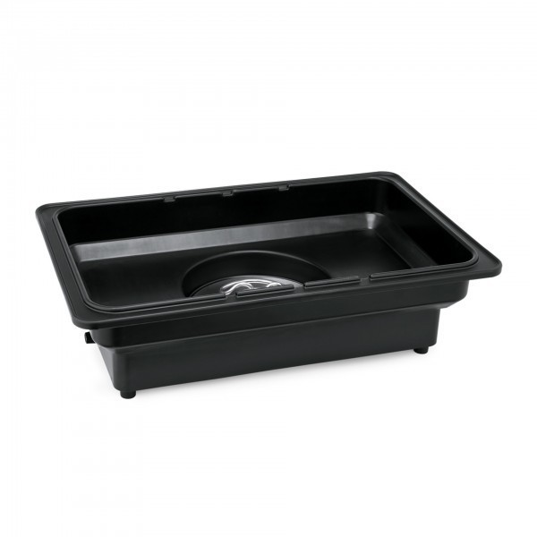 Elektro Kunststoffwasserbad - Kunststoff - passend für GN Behälter 1/1 bis 65 mm