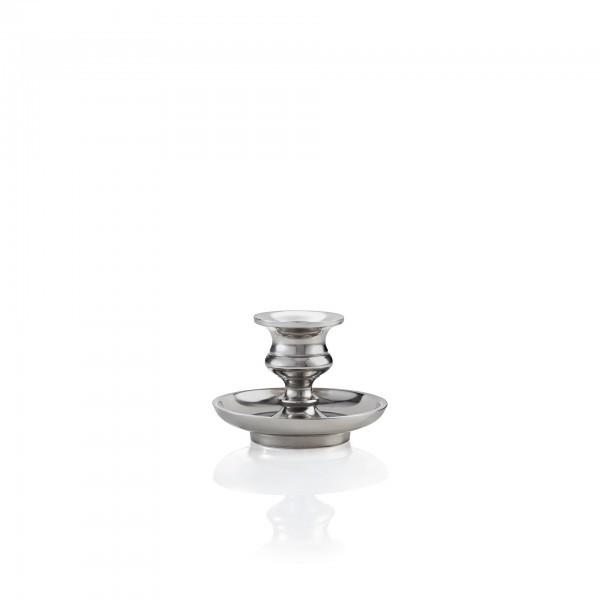 Kerzenhalter - Aluminium vernickelt