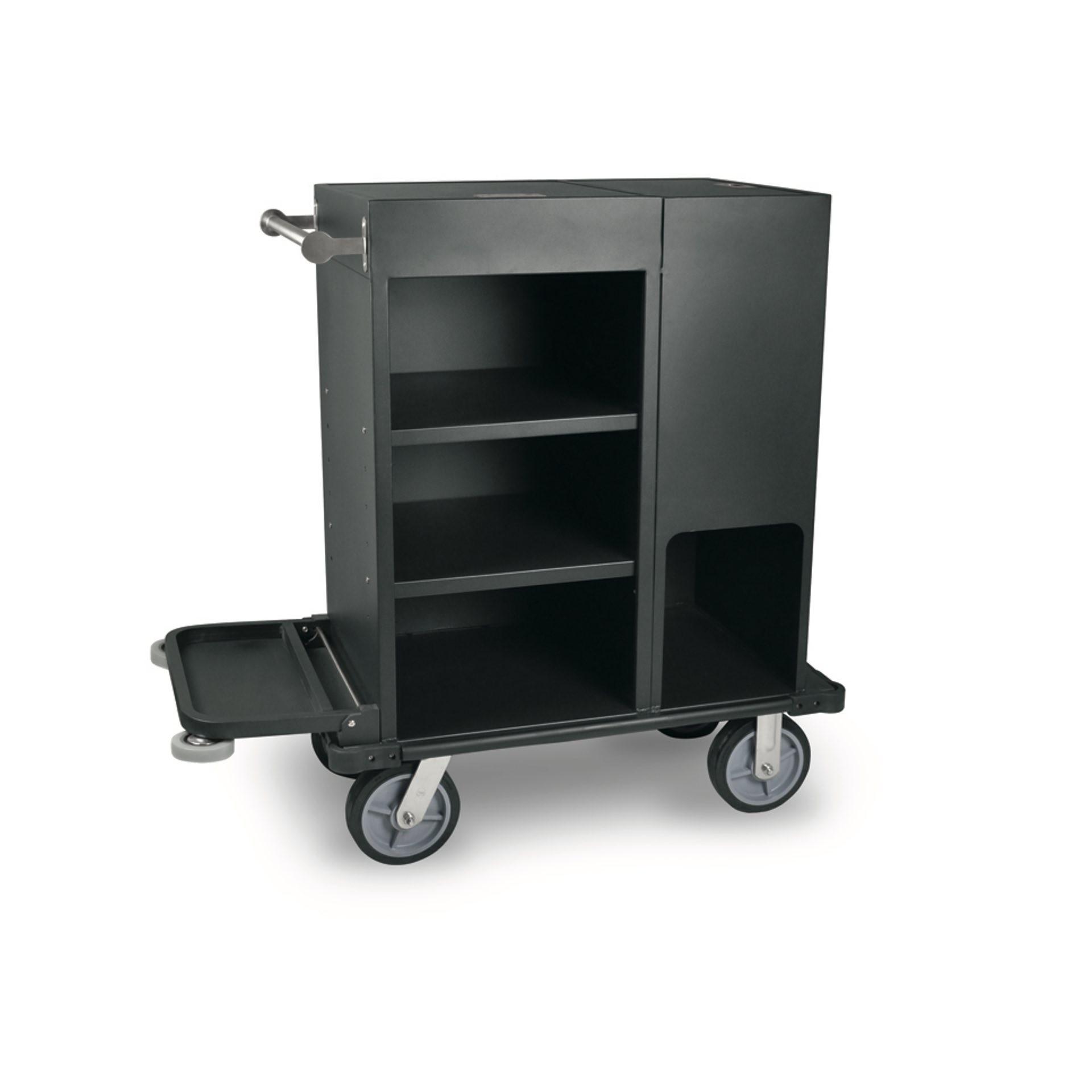 zimmerservicewagen aluminium schwarz g nstig kaufen. Black Bedroom Furniture Sets. Home Design Ideas
