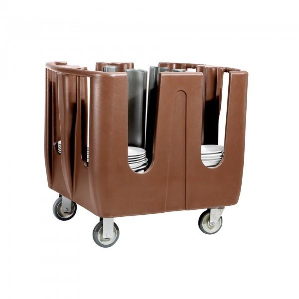 Geschirrabräumwagen - Kunststoff - verstellbare Säulen - premium Qualität