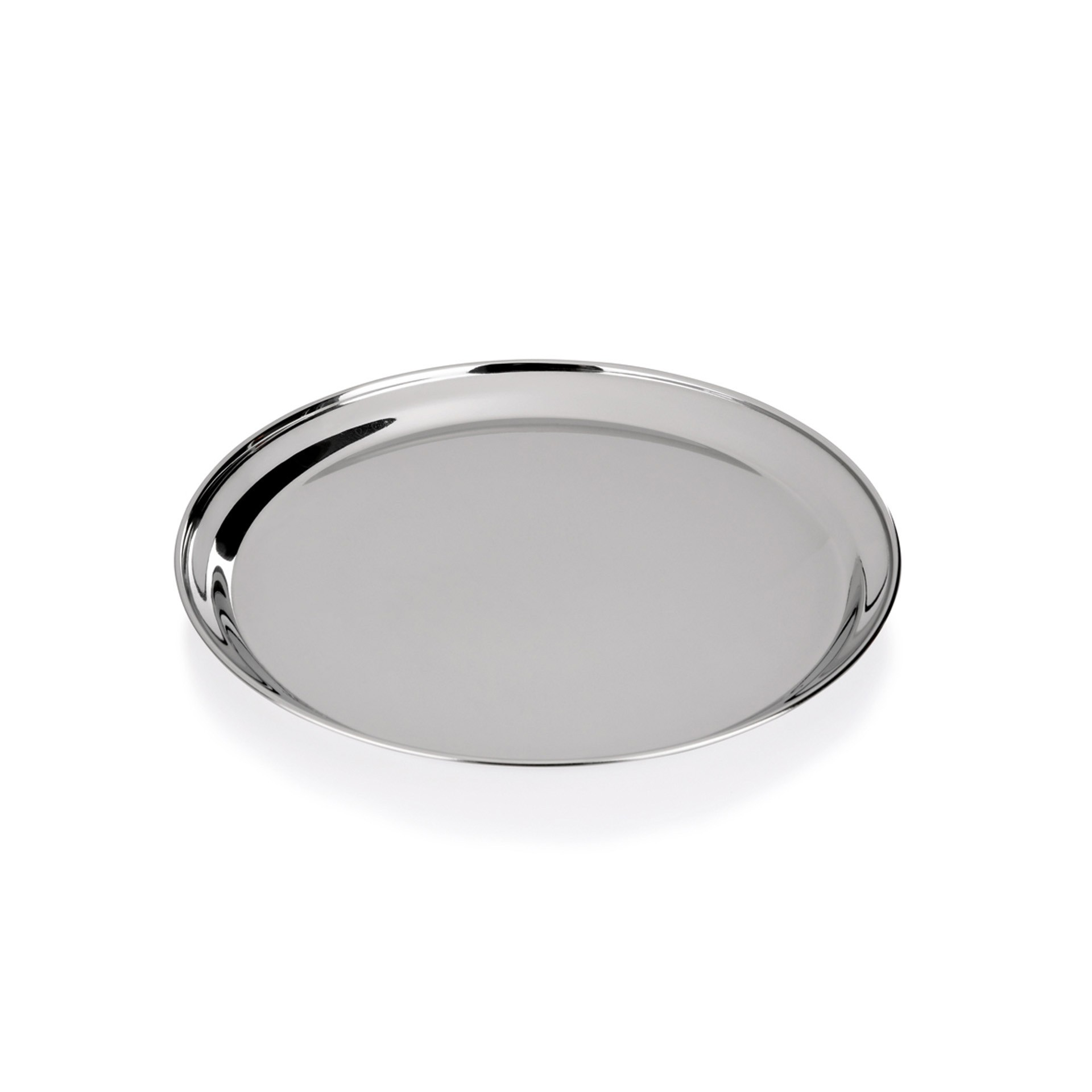 Kunststoff rutschhemmend Tablett Serviertablett rund Ø 32 cm- 40 cm wählbar