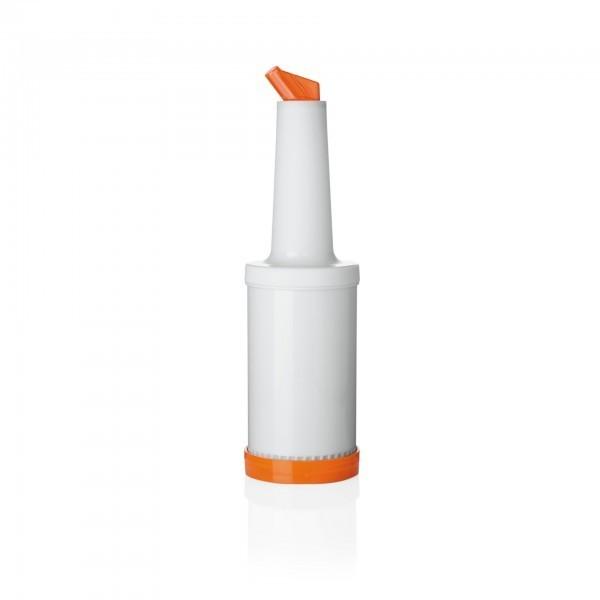 Dosier- und Vorratsflasche - Polypropylen - orange - 4-teilig - 9994 004