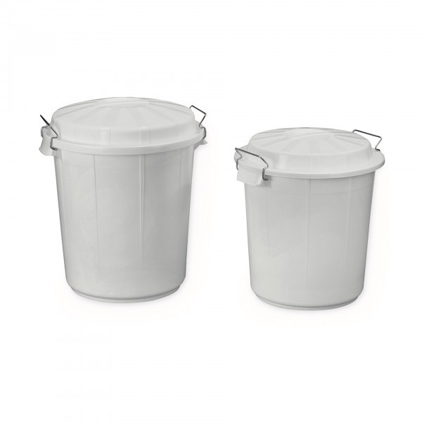 Zutaten- / Lagerbehälter - Polyethylen - rund
