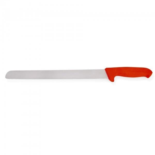 Schinkenmesser - Serie HACCP - Edelstahl - rot - mit Fingerschutz