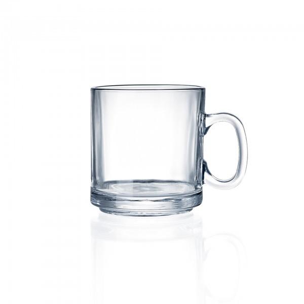 Becher - Glas - mit Henkelgriff