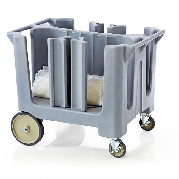 Geschirrabräumwagen - Kunststoff - verstellbare Säulen - extra preiswert