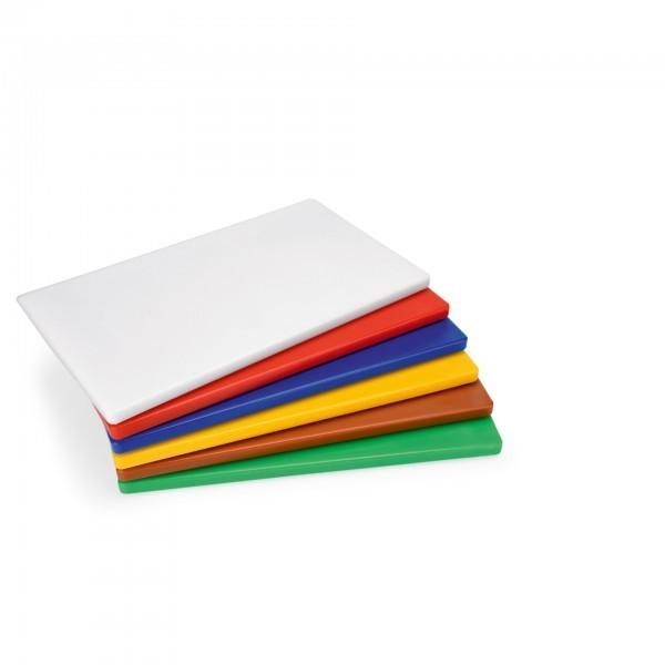 HACCP Schneidbrett - Polyethylen - 6 Farben - mit rutschhemmenden Füßen
