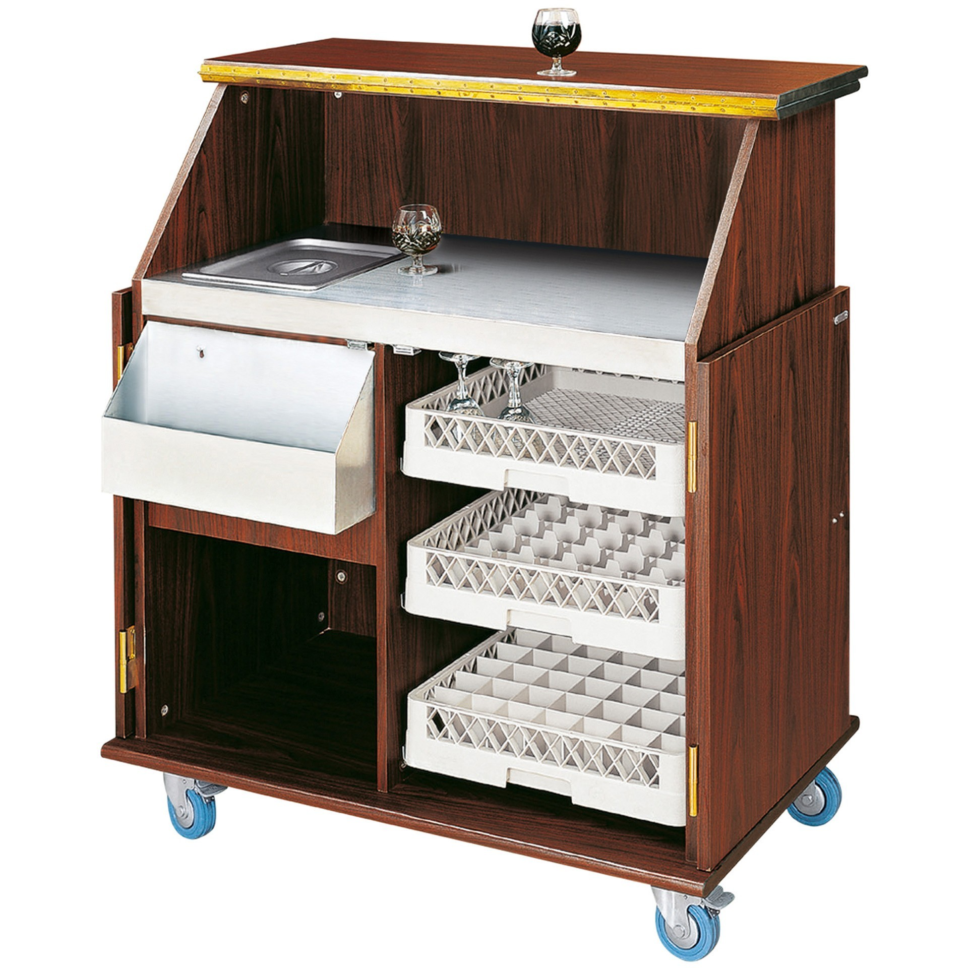 mobile bar aus holz g nstig kaufen. Black Bedroom Furniture Sets. Home Design Ideas
