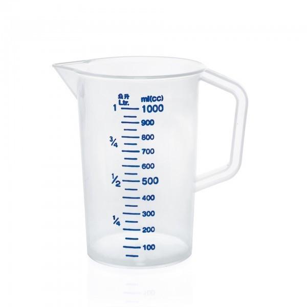 Messbecher - Polypropylen - mit 100 ml Skalierung