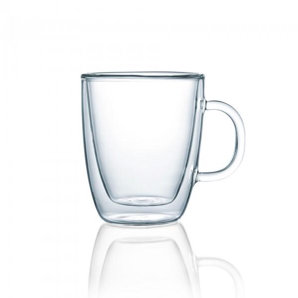Teeglas - Serie Enjoy - mit Henkel