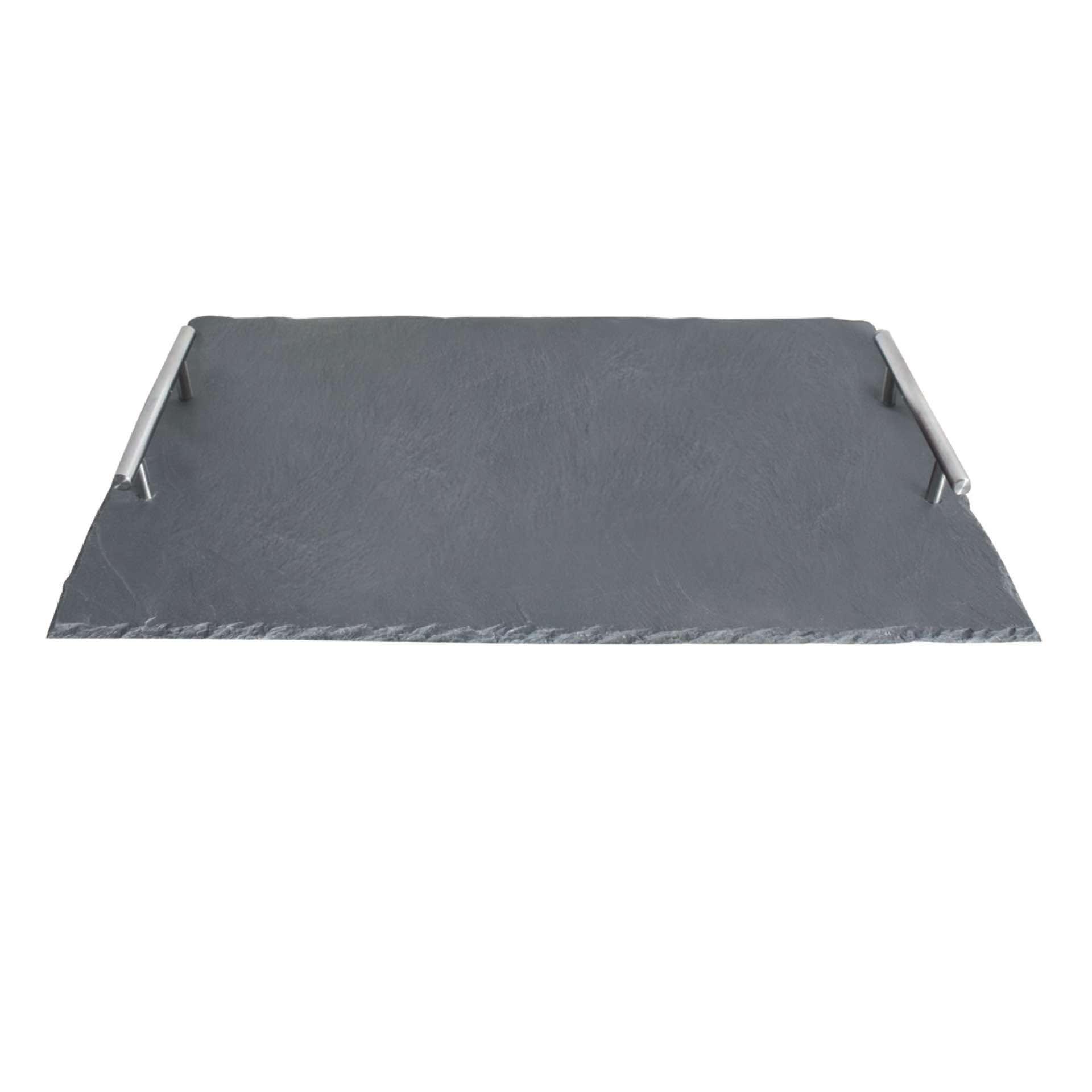 gn platte servierplatte mit zwei edelstahlgriffen g nstig kaufen. Black Bedroom Furniture Sets. Home Design Ideas