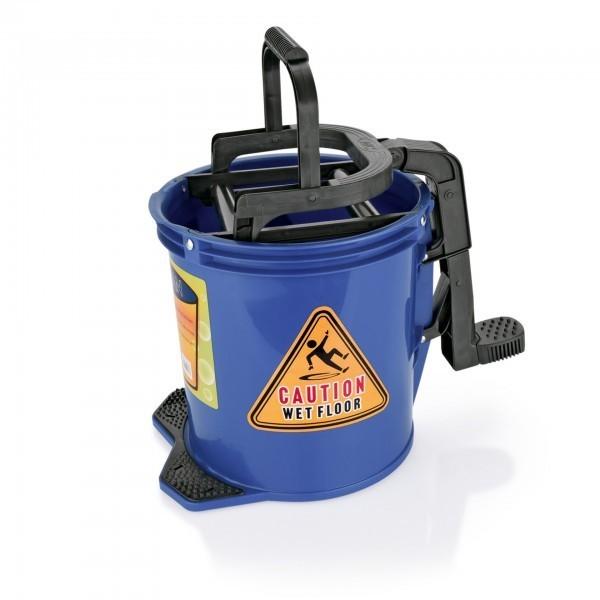 Fahreimer - Kunststoff - blau - mit Fußpedal