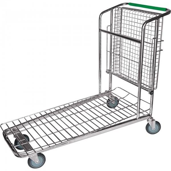 Transportwagen - Stahl - Ecken mit Rammschutz - extra preiswert