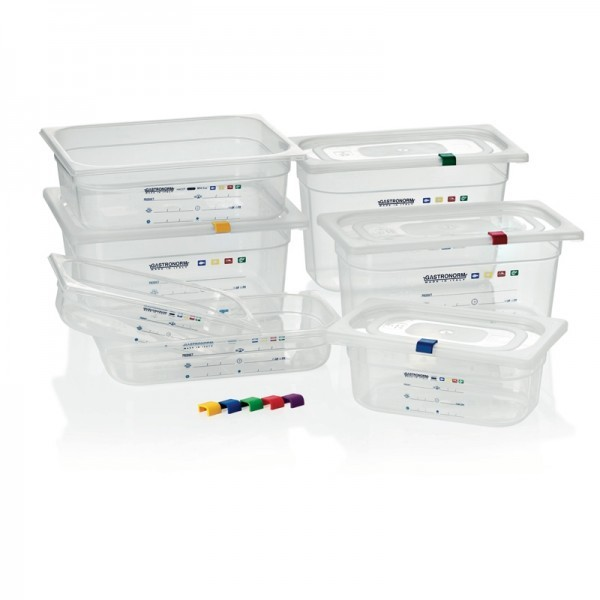 GN-Behälter - Serie 010 - HACCP konform - ohne BPA