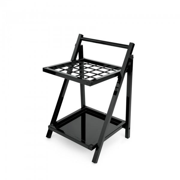 Schirmständer - Stahl - schwarz - zusammenklappbar