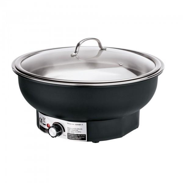 Elektro Chafing Dish - Kunststoff / Edelstahl - mit Speiseeinsatz